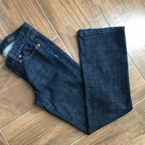 J. Crew boot cut denim jeans size 25S